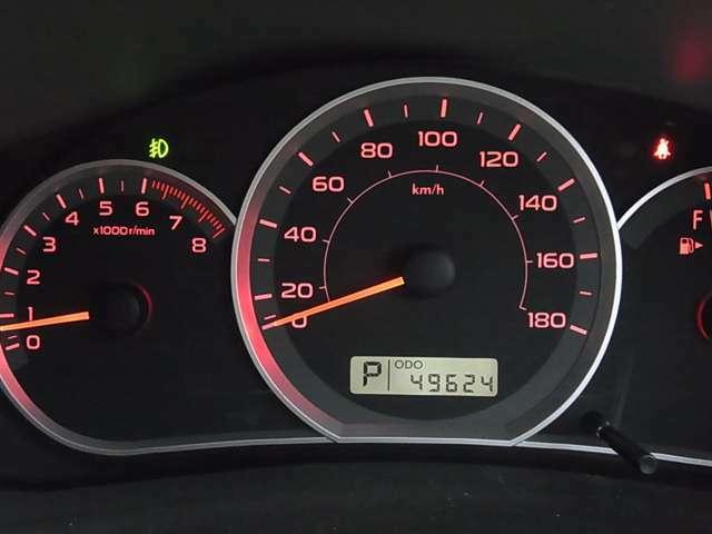 走行49,624km!