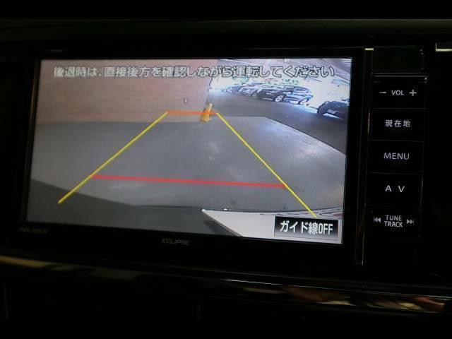 「バックモニター」装備で駐車も安心ですね!大きな車が不安な方には必須装備です!!