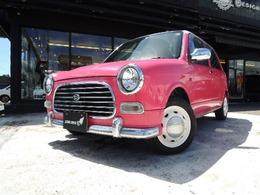 ダイハツ ミラジーノ 660 ピンク&ホワイトルーフCD&CS