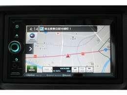 クラリオンナビ搭載車!!ナビ起動までの時間と地図検索する速度が最大の魅力で、初めての道でも安心・快適なドライブをサポートします!!