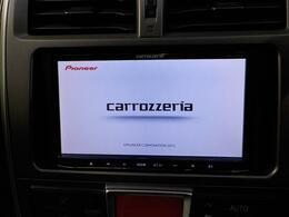 カロッツェリア製HDDナビを装備!