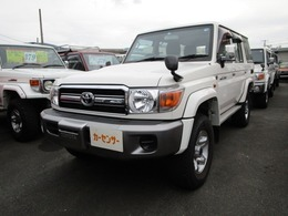 トヨタ ランドクルーザー70 4.0 4WD 30thアニバーサリー HDDナビ ETC