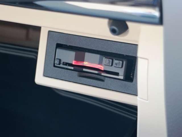ETC車載器はセットアップ済です。納車後すぐにノンストップ通過可能です!