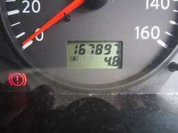 走行168000km