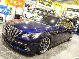 トヨタ クラウンロイヤル ハイブリッド 2.5 ロイヤルサルーン HDDマルチ/新品車高調/クラブリネア20inch