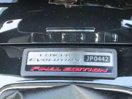 国内1000台限定!1台1台に割り振られたシリアルナンバー付き!「JP0442」