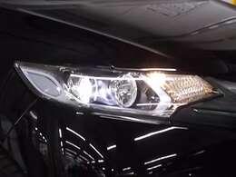 LEDヘッドライト装備