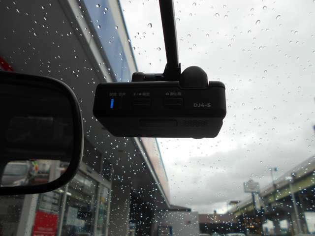 純正ドライブレコーダー付いてます。もしもの時も状況を記録してくれます