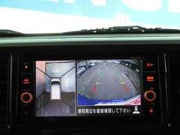 真上からの映像で駐車をサポートするアラウンドビューモニター☆