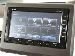 ナビゲーションはホンダ純正メモリーナビ(VXM-184VFi)が装着されております。AM、FM、CD、DVD再生、フルセグTV、Bluetoothがご使用いただけます。初めて訪れた場所でも道に迷わず安心ですね!