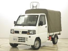 日産 クリッパートラック 660 DX 幌付き 三方開き AT
