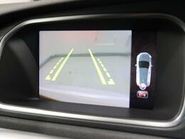 カラーバックビューカメラはリアソナーとも連動し、スムーズな駐車をサポート。ステアリング舵角に合わせて動くガイドラインも表示され、分かりやすくなっています。