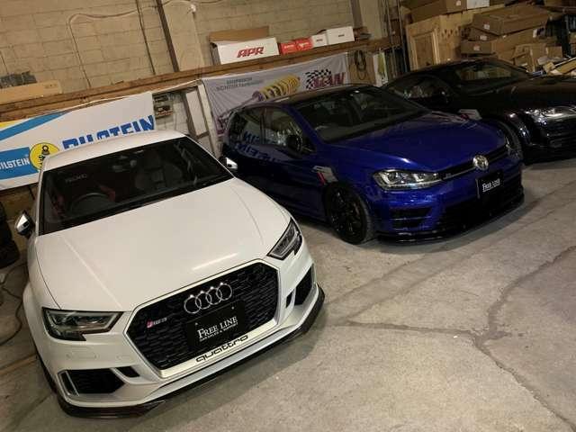 VW&AUDIとPORSCHEのカスタマイズはおまかせください!カスタマイズ車両の高価買取にも力を入れております!
