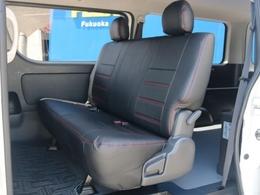 後席シートベルトも標準装備!チャイルドシートのお取り付けも可能です。