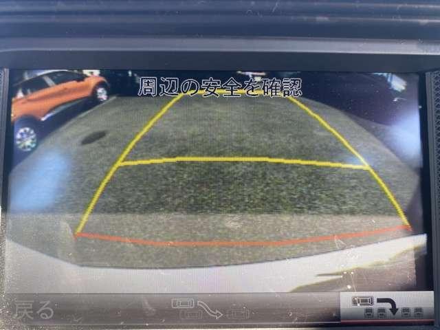 駐車時に安心のバックカメラ付きです♪