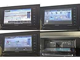 ワイドで明るい液晶画面、簡単な操作方法、多機能ナビゲーション。知らない街でも安心です。ケンウッド 彩速ナビ 「MDV-D707BTW」