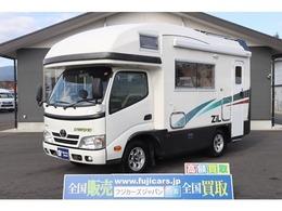 トヨタ カムロード 3.0DT 4WD バンテック ジル4 家庭用エアコン 温水ボイラー ソーラー