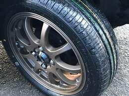 【新品タイヤ・新品アルミホイール】経年劣化が進んでいるネイキッドを心から楽しんで頂くため、当社では新品タイヤかつ新品アルミホイールに交換した状態での販売となります!ご安心してご検討下さい♪