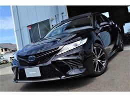 トヨタ カムリ 2.5 WS レザーパッケージ 1オーナー パノラマムーンルーフ 黒革