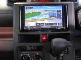 8型画面ナビ地デジフルセグTV・CD・DVD・Bluetooth機能