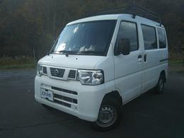 日産 NV100クリッパー 660 DX ハイルーフ 4WD ルーフキャリア ETC