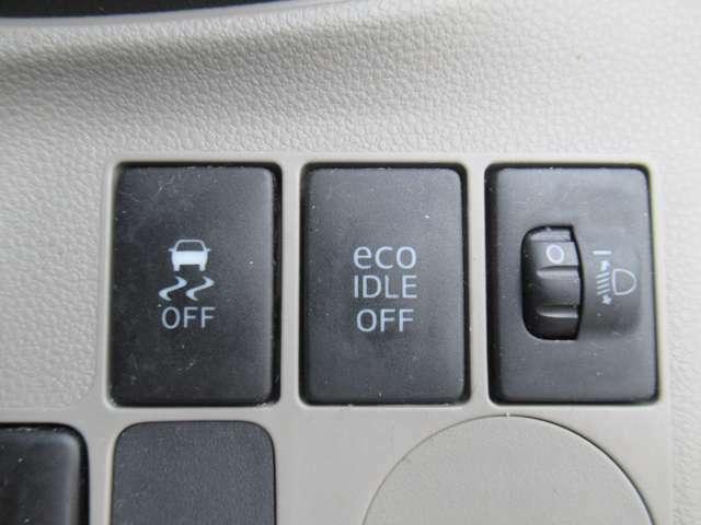 低燃費の必需品!エコアイドル装備! さらにヘッドライトレベライザーもあります!夜、前が見にくいというときはいじってみて下さい♪