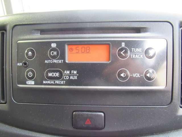 CDチューナー付いてます♪ドライブに音楽は必需品ですよね♪