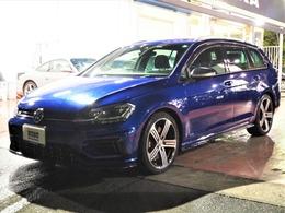 フォルクスワーゲン ゴルフヴァリアント R 4WD 1オーナー 当社ユーザー様買取車両 18AW