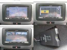 カロッツェリア製SDナビ Bluetooth接続 地デジ視聴可能です。バックカメラも装着されていますので駐車の際も安心です。