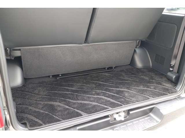 専用ラゲージマット!車輌持込にて内装施工可能です!