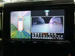 ◆【全周囲モニター】上から見下ろしたような視点で車の周囲を確認することができます☆縦列駐車や幅寄せ等でも活躍すること間違いなし!!