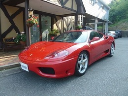 フェラーリ 360モデナ F1 ディーラー車 左H 6速AT 黒本革