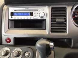 CDプレーヤー装備。