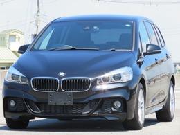 BMW 2シリーズグランツアラー 218d Mスポーツ クルーズコントロール HUD