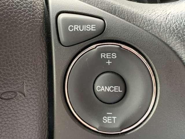 オートクルーズコントロール付きです!!高速道路の長距離運転でのアクセル操作をサポートしてくれます。