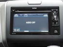 ギャザズディスプレイコンポWX171CP搭載です AM/FMラジオ,CDドライブ,ワンセグ,ワイドFM対応,USB,SDカードスロット,標準装備です