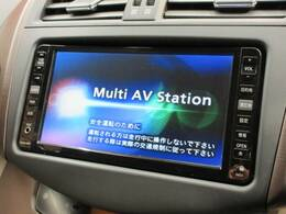 純正HDDナビを装備でロングドライブも快適です。フルセグTV視聴可能!