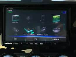 【純正SDメモリーナビ(CN-RS01D)】CD/DVD/フルセグTV/Bluetooth/音楽録音