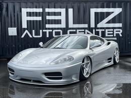 フェラーリ 360モデナ F1 ノビテックフルエアロ エアサス