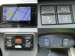 H27年式 シエンタ G セーフティセンス/衝突軽減ブレーキ/車線逸脱警報/先行車発進アラート/ETC/純正フルセグナビ/フリップダウンモニター/シートヒーター/両側電動ドア/LED/フォグ/モデリスタエアロ/