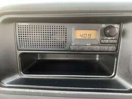 FMラジオ搭載!