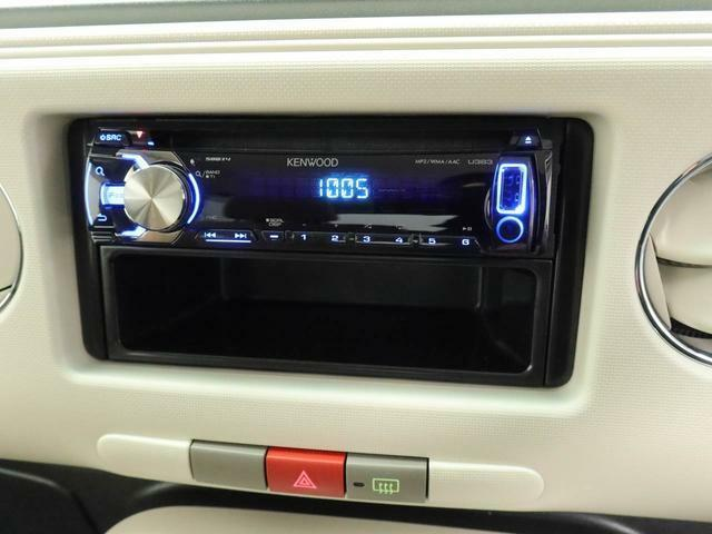 オーディオがついているので、ラジオなど聴きながらドライブをお楽しみいただけます♪
