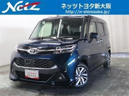 トヨタ タンク 1.0 カスタム G S トヨタ認定中古車  衝突軽減ブレーキSDナビ