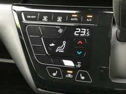 【タッチパネル式オートエアコン】温度設定をするだけで、風の温度・風量・吹き出し口を勝手に決めてくれるスグレモノ!車内を簡単に快適にしましょう。