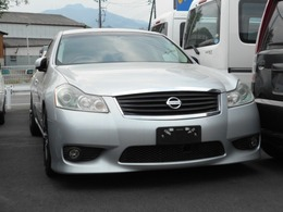 日産 フーガ 3.5 350GT スポーツパッケージ 本革シート車高調