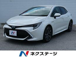 トヨタ カローラスポーツ 1.8 ハイブリッド G Z 純正9型ナビ
