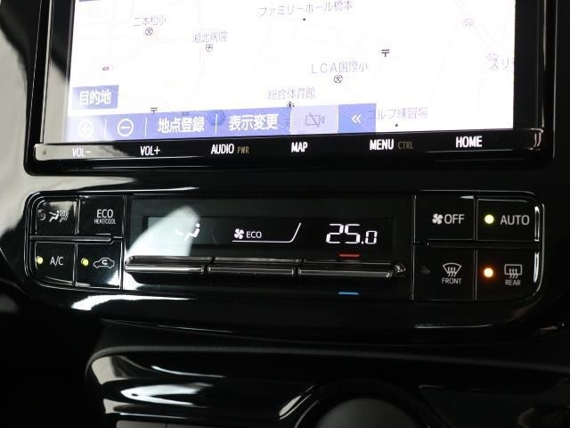 使いやすいレイアウトの空調スイッチ類です。 スイッチも大きく、気温に合わせて直感的に操作できそうですね。操作もしやすく、車内をいつでも快適に保てます。