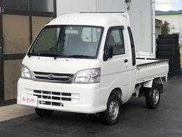 ダイハツ ハイゼットトラック 660 ジャンボ 3方開 4WD 5速MT エアコン パワステ 車検R3年5月