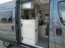 FFヒーター 温水ボイラー 冷蔵庫 トイレ シャワー 外部電源 外部充電