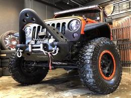ジープ ラングラー アンリミテッド スポーツ 4WD 社外ナビ RIGID LEDライト/ライトバー